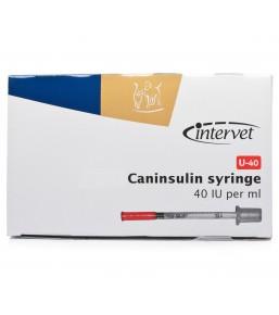 U-40 Caninsulin spuitjes voor insuline / MSD