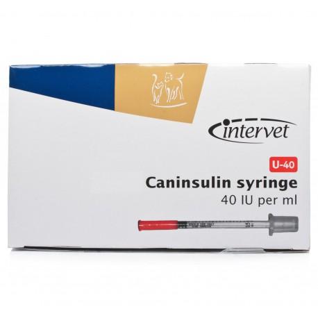 U-40 Caninsulin spuitjes voor insuline