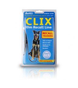 Clix - Terugroeplijn voor hond 5 of 10 meters