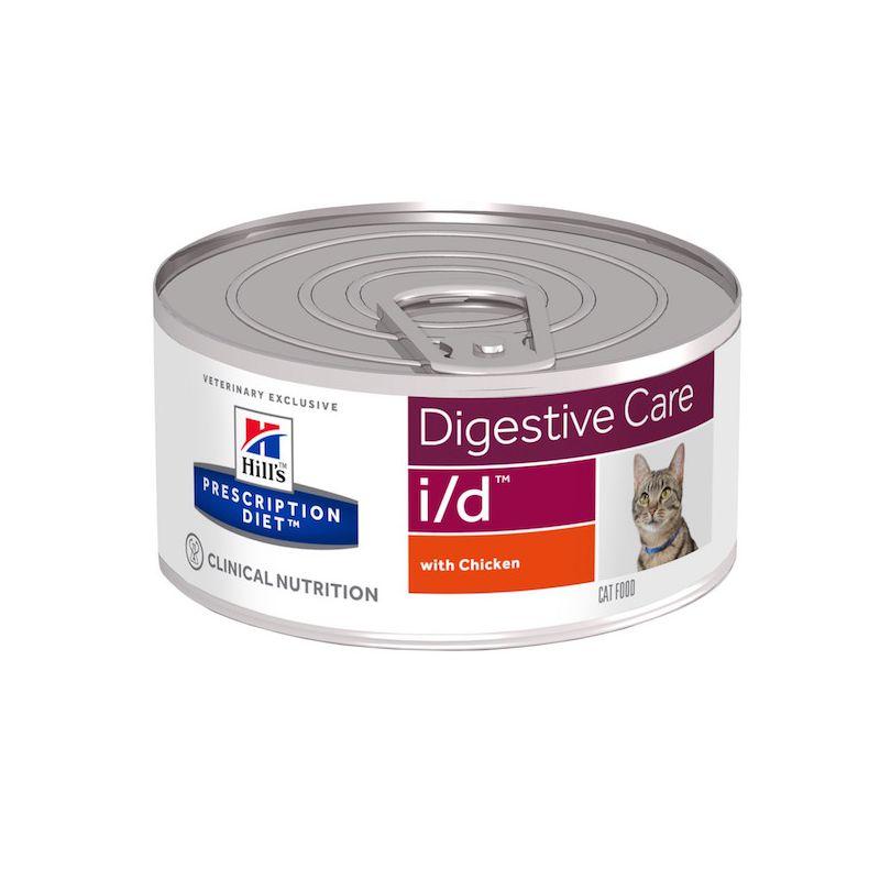 prescription diet i d feline blikvoer kip voor katten met maag darmproblemen hill 39 s. Black Bedroom Furniture Sets. Home Design Ideas