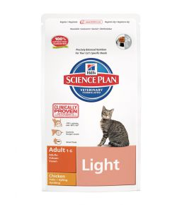 Science Plan Feline Adult Light Kip
