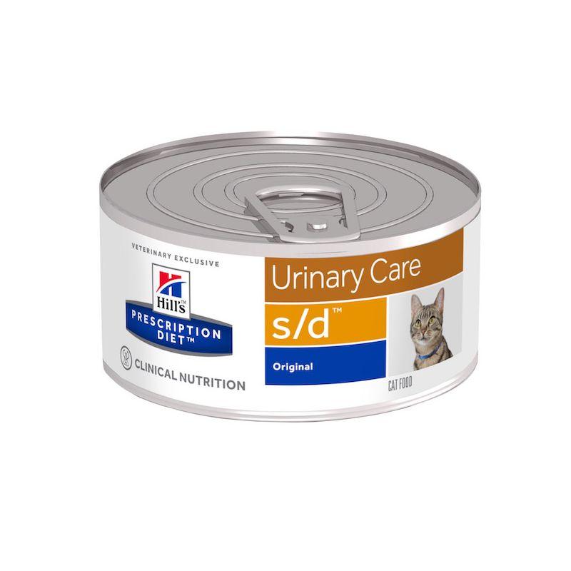 hill 39 s prescription diet s d feline blikvoer voor katten met blaasstenen hill 39 s direct. Black Bedroom Furniture Sets. Home Design Ideas