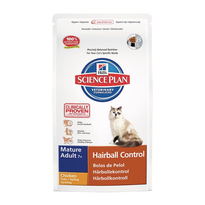 science plan feline mature adult 7 hairball control. Black Bedroom Furniture Sets. Home Design Ideas