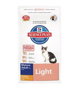 Science Plan Feline Mature Adult 7+ Light Kip