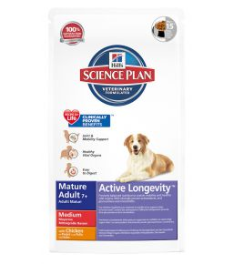 Science Plan Canine Mature Adult 7+ Active Longevity Medium