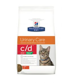 Prescription Diet c/d Feline Urinary Stress Metabolic - Brokken