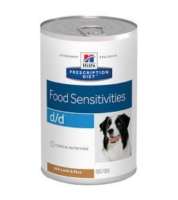 Prescription Diet D/D Canine Lam (blikvoer)