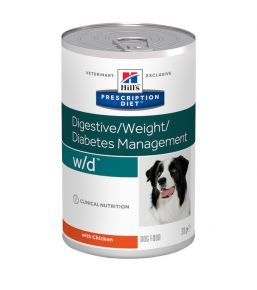 Prescription Diet W/D Canine (blikvoer)