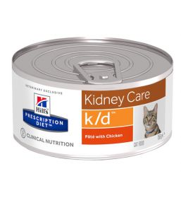 Hill's Prescription Diet k/d Feline Minced with Chicken (blikvoer)