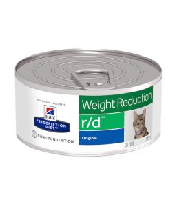 Hill's Prescription Diet r/d Feline Minced with Liver (blikken)