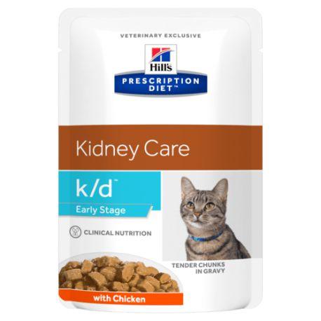 Hill's Prescription Diet k/d Feline Early Stage Maaltijdzakjes