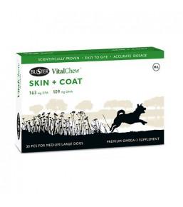 VitalChew Skin & Coat - ondersteuning van de huid en vacht bij honden