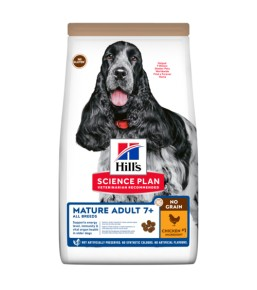 Science Plan Canine Mature Adult No Grain met Kip