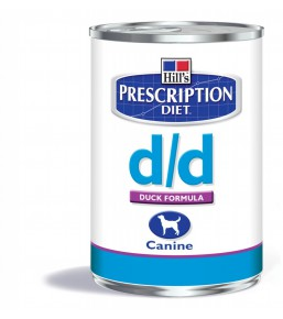 Hill's Prescription Diet D/D Canine Canard (blik)