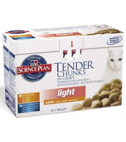 Science Plan Feline Adult Light Classic Selection Multipack