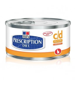 Hill's Prescription Diet c/d Feline minced with chicken (blik)